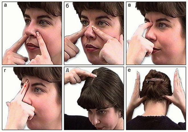 Точечный массаж при гайморите и другие альтернативные способы лечения.