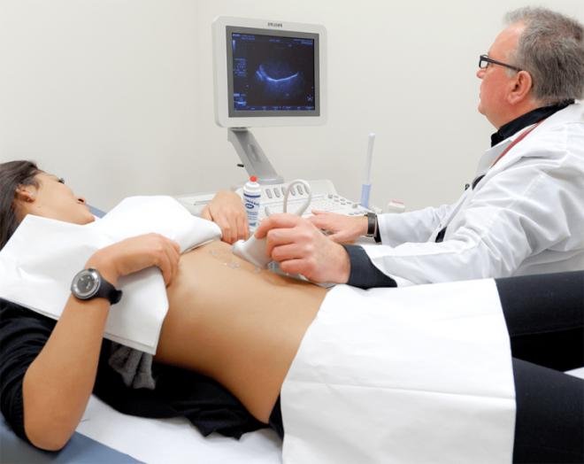 Проведение УЗИ поджелудочной железы