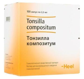 Тонзилла Композитум: инструкция по применению и отзывы