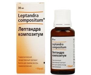 Лептандра Композитум: инструкция и отзывы