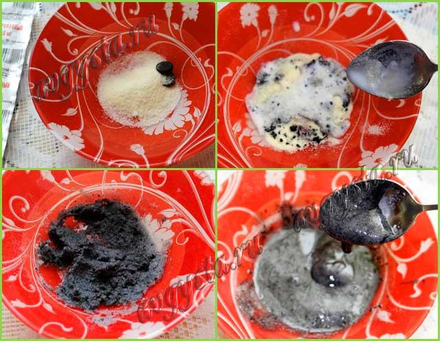 Маска из желатина и активированного угля отзывы и способы приготовления
