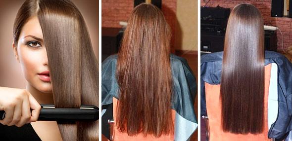 масло для выпрямления волос какое лучше