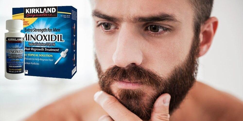 миноксидил для роста бороды
