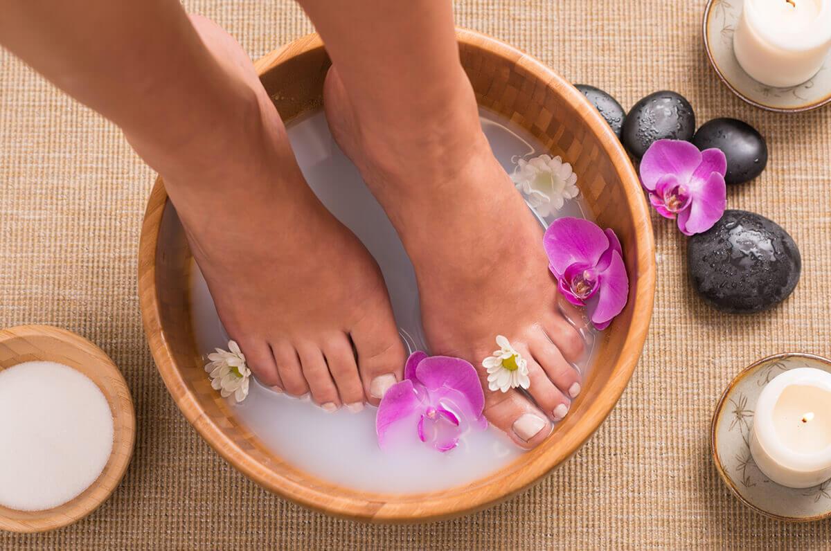 Ванночки для ног при варикозе в домашних условиях