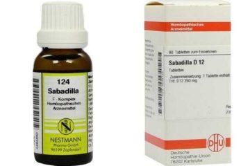 Сабадилла в гомеопатии: показания к применению