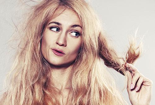 Испорченные волосы
