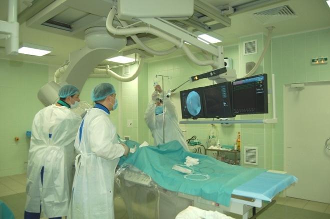 Проведение ангиографии