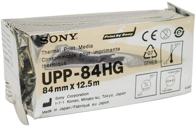 Бумага для УЗИ Sony