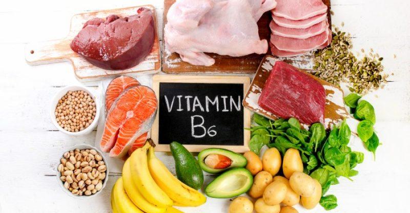 в каких продуктах витамин B6
