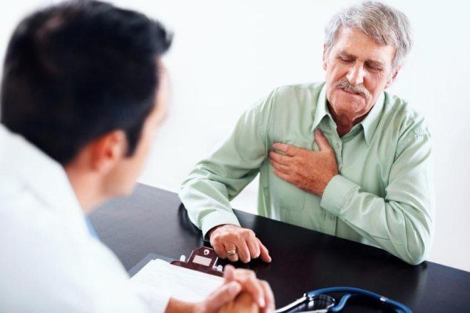 Боль в сердце мужчины