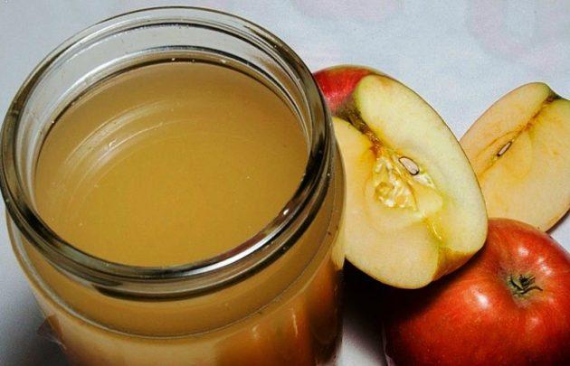 Приготовить яблочный уксус от сосудистых звездочек несложно