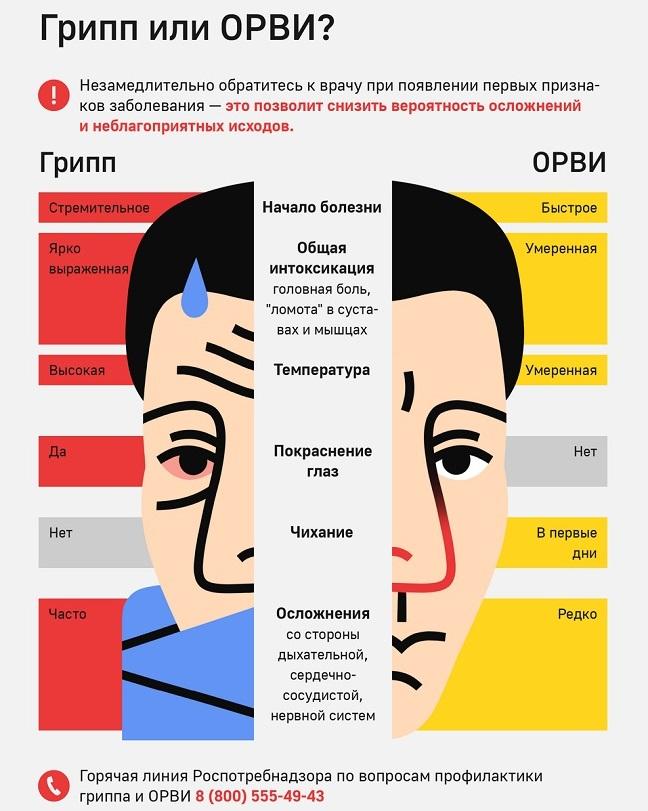 ОРВИ: симптомы, профилактика и лечение