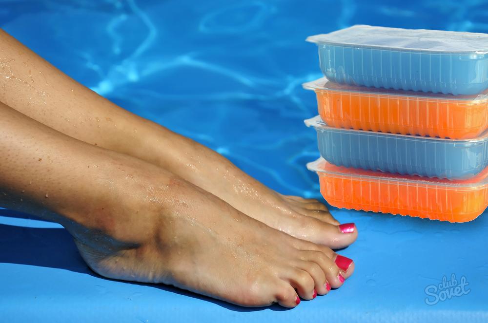 Парафиновые ванночки для ног в домашних условиях