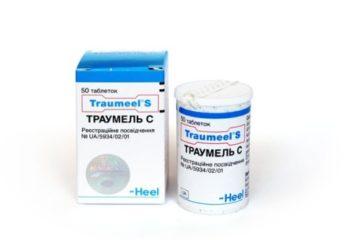 Таблетки Траумель: инструкция по применению и отзывы