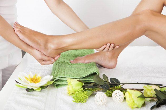 Эффект от пилинга ног