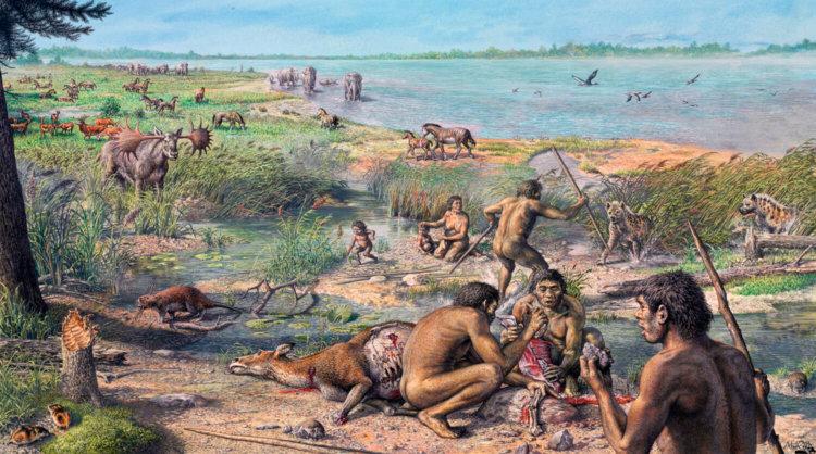 чем питались древние люди