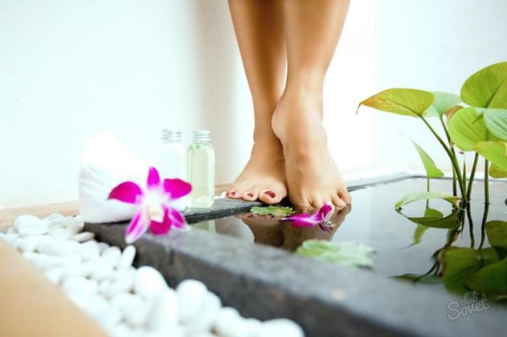 ванночки для ног с морской солью и содой лучшие солевые рецепты