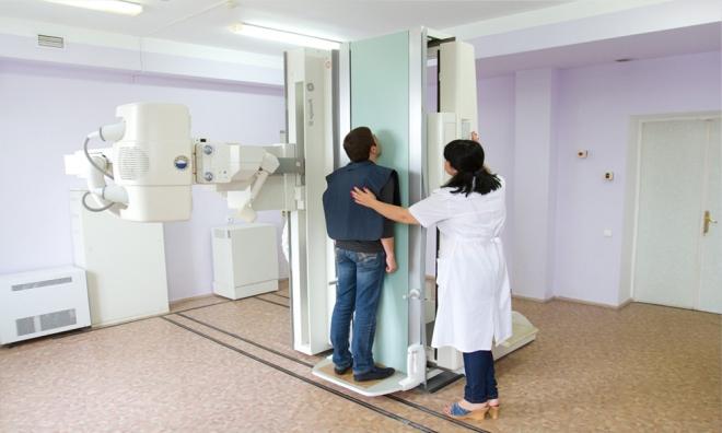 Проведение рентгена головы