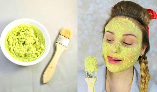 маска из авокадо для лица улучшает качество кожи