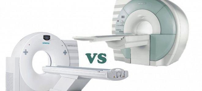 В чем разница между МРТ и КТ