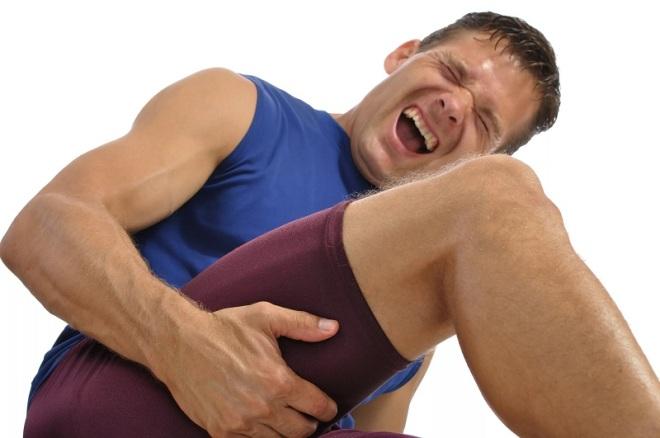 Травма мышц бедра