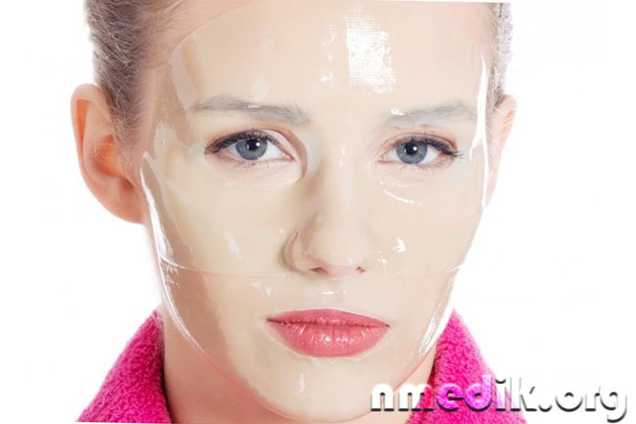 маска для лица с коллагеном в домашних условиях