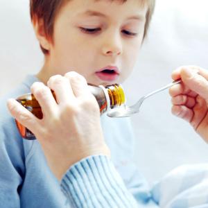 Антибиотик в суспензии