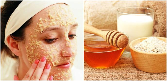 Геркулесовые хлопья и мед – отменное средство, воздействующее на морщины