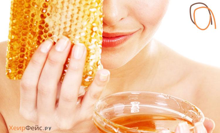 медовая маска для лица против морщин в домашних условиях