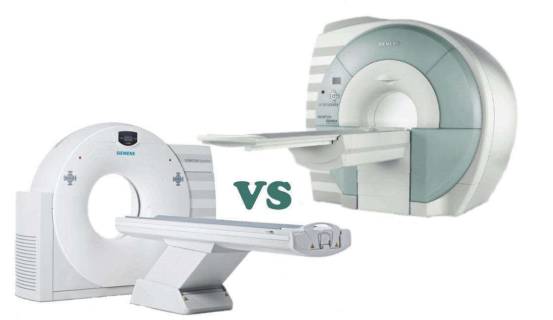 Чем отличается МРТ от КТ: вред, информативность методов