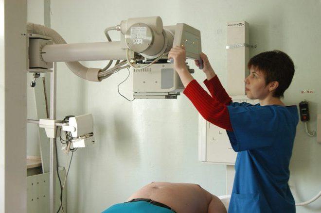 Проведение рентгена почек