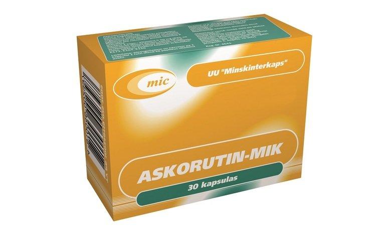 Аскорутин при месячных: дозировка и как принимать