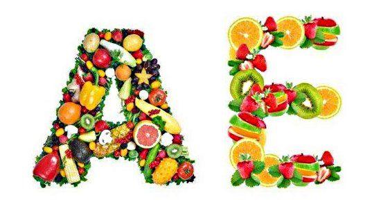 Витамины А Е