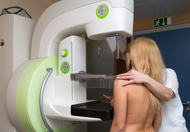 Проведение маммографии