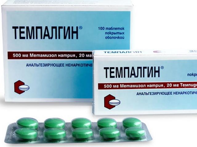 Употребление таблеток Темпалгин при месячных