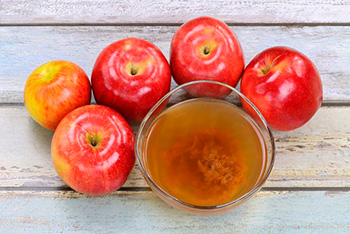 яблочный уксус от кожных наростов