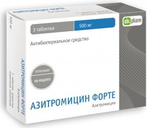 Прием азитромицина