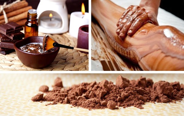 Обертывание с шоколадом дома