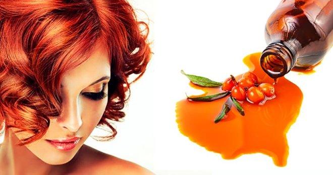 Облепиховое масло для волос – свойства, применение. Маска для ...