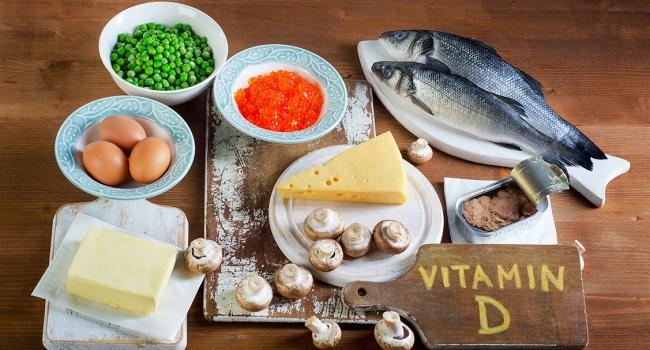 в каких продуктах витамин D