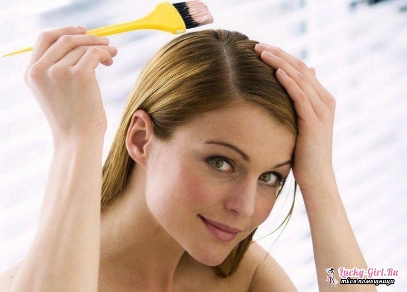 Как покрасить осветленные волосы в темный цвет