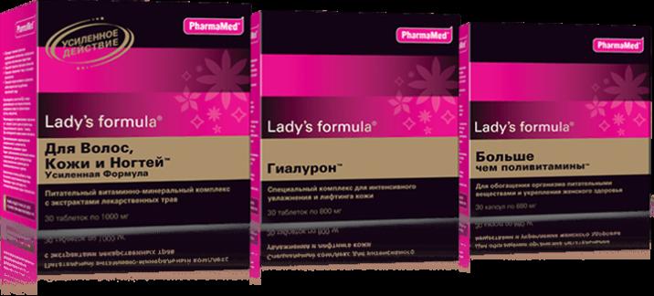 Женские витамины Ледис Формула при менопаузе