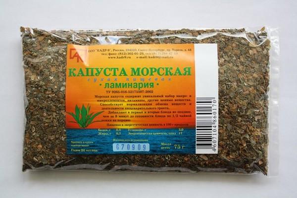 Маска для тела из ламинарии рецепты с экстрактом водоросли