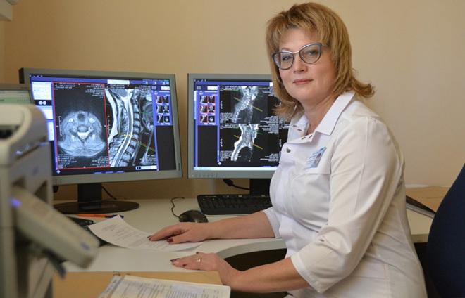 Проведение МРТ спинного мозга