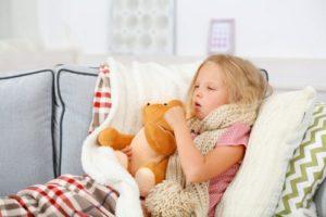 Тонзиллит у ребенка