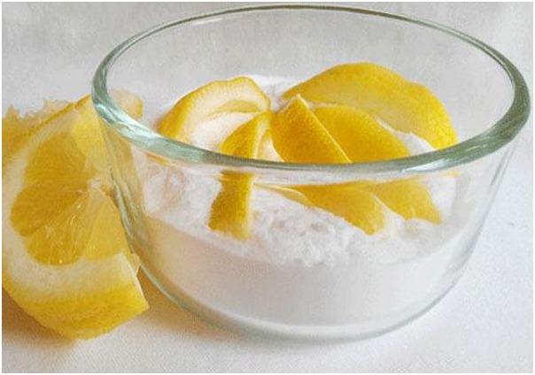 Сода и лимон от прыщей