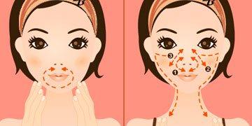 Асахи-подъем губ и разглаживание носогубных складок