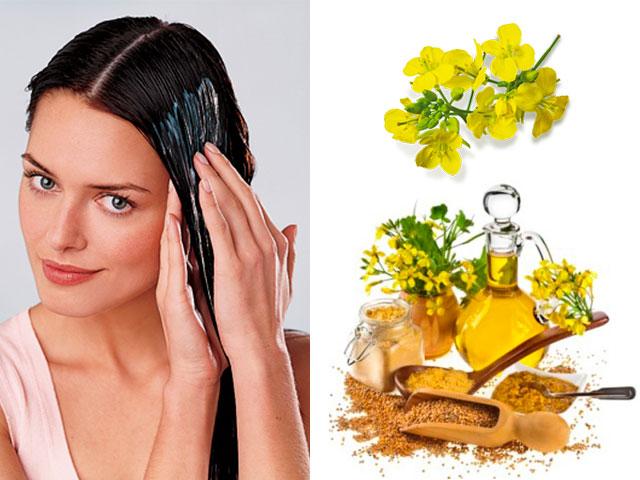 маска для густоты волос с горчицей горчиные смеси для придания объема