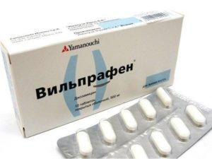 Вильпрафен таблетки