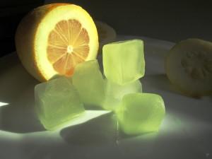 лед из лимона для лица полезны ли кубики льда для кожи